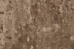 Muro di cemento con pittura misera fotografie stock libere da diritti
