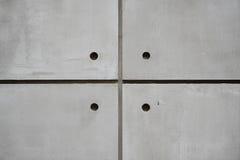 Muro di cemento del quadrato Fotografia Stock
