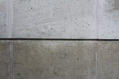 Muro di cemento diviso Fotografie Stock