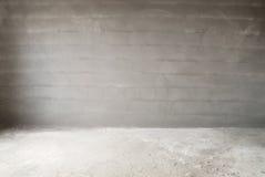Muro di cemento e pavimento Fotografie Stock Libere da Diritti
