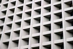 Muro di cemento di fondo di costruzione moderno fotografie stock libere da diritti