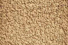 Muro di cemento giallo con gesso Fotografia Stock