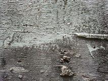 Muro di cemento grigio Fotografie Stock Libere da Diritti