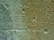 Muro di cemento grigio Fotografie Stock
