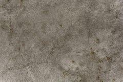 Muro di cemento grigio grezzo di struttura Muro di cemento del fondo Fotografia Stock Libera da Diritti