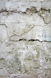 Muro di cemento incrinato Fotografia Stock Libera da Diritti