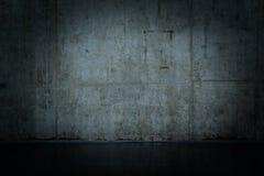 Muro di cemento nudo Grungy e liscio Immagini Stock Libere da Diritti