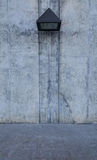 Muro di cemento nudo Grungy e liscio Fotografia Stock Libera da Diritti