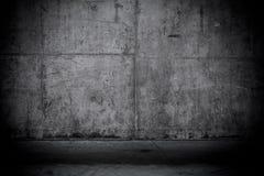 Muro di cemento nudo Grungy e liscio Fotografia Stock