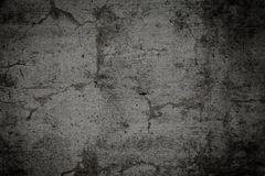Muro di cemento nudo Grungy e liscio per fondo Fotografia Stock Libera da Diritti