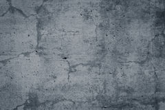 Muro di cemento nudo Grungy e liscio per fondo Fotografia Stock