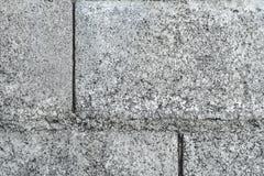 Muro di cemento prefabbricato Fotografia Stock