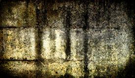Muro di cemento scuro del grunge Fotografie Stock Libere da Diritti