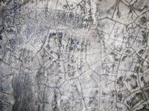 Muro di cemento strutturato grigio Fotografia Stock Libera da Diritti