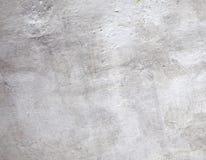 Muro di cemento verniciato bianco astratto Fotografia Stock