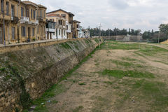 Muro di cinta veneziano, Nicosia, Cipro Fotografia Stock