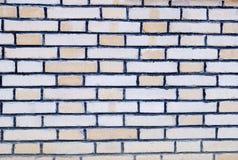 Muro di mattoni Immagini Stock Libere da Diritti