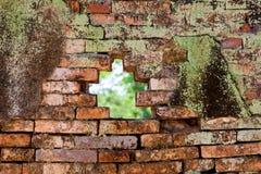 Muro di mattoni Fotografie Stock Libere da Diritti