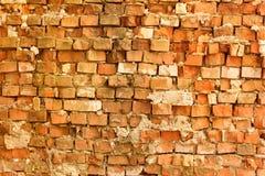 Muro di mattoni. fotografie stock