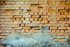 Muro di mattoni Fotografia Stock
