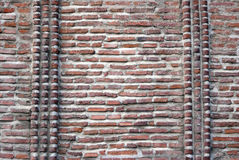 muro di mattoni antico Fotografie Stock