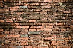Muro di mattoni antico Immagine Stock