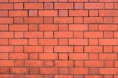 Muro di mattoni arancio Fotografia Stock Libera da Diritti