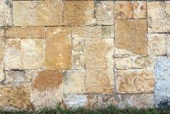 Muro di mattoni astratto Immagine Stock Libera da Diritti