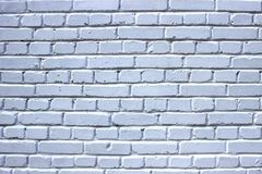 Muro di mattoni bianco Fotografie Stock
