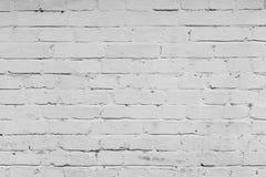 Muro di mattoni bianco Immagine Stock Libera da Diritti