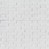 Muro di mattoni bianco di lerciume fotografie stock