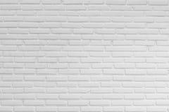 Muro di mattoni bianco, fondo Immagine Stock