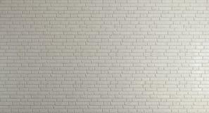 Muro di mattoni bianco per fondo Fotografia Stock