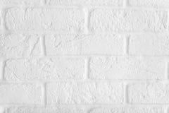 Muro di mattoni bianco, perfetto come fondo, fotografia quadrata Immagine Stock
