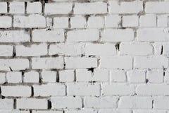 Muro di mattoni bianco, perfetto come fondo, fotografia quadrata fotografia stock