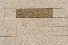 Muro di mattoni chiaro Immagine Stock