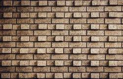Muro di mattoni con effetto 3D Immagini Stock Libere da Diritti