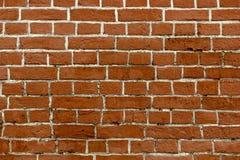 Muro di mattoni con le cuciture bianche adatto a fondo Fotografia Stock Libera da Diritti