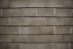 Muro di mattoni concreto Immagini Stock Libere da Diritti