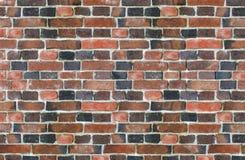 Muro di mattoni d'annata Fotografie Stock Libere da Diritti