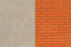Muro di mattoni d'annata Fotografie Stock