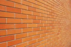 Muro di mattoni d'annata Fotografia Stock