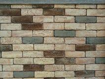 Muro di mattoni d'annata Immagini Stock Libere da Diritti