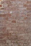 Muro di mattoni dal vecchio mattone immagini stock