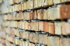 Muro di mattoni dalla Serbia immagine stock libera da diritti