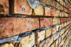Muro di mattoni dalla Serbia immagini stock libere da diritti