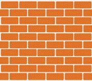 Muro di mattoni dei mattoni rossi Illustrazione di vettore per la vostra acqua dolce di design illustrazione vettoriale