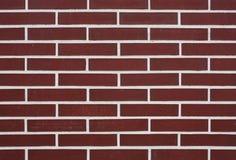 Muro di mattoni del Brown Fotografie Stock Libere da Diritti