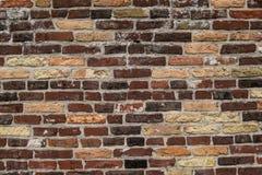 Muro di mattoni del Brown Immagine Stock Libera da Diritti