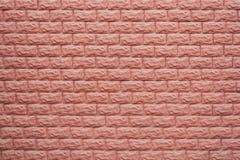 Muro di mattoni del Brown Priorità bassa strutturale Nessuno, primo piano immagine stock libera da diritti